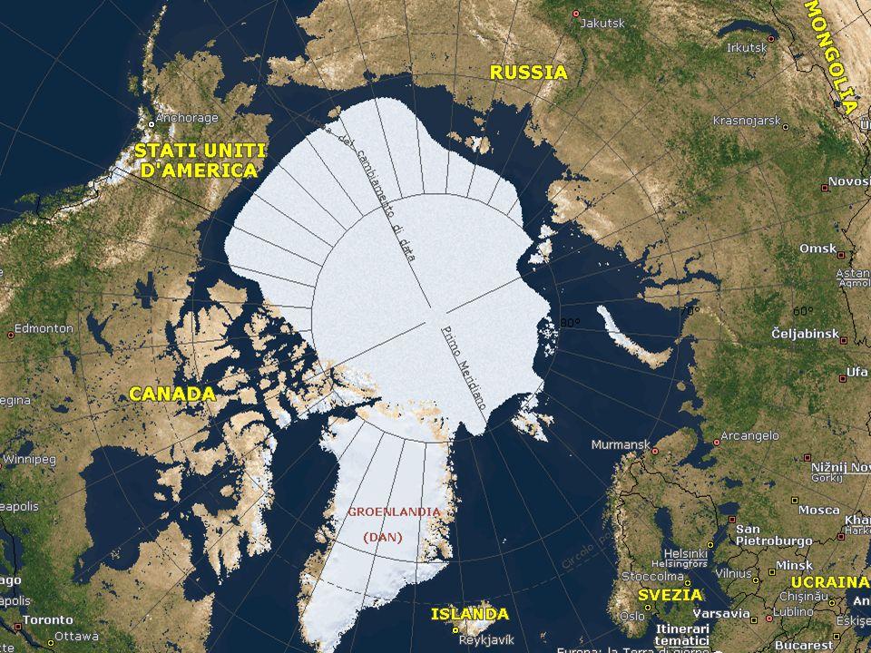 Ghiaccio Nell Artico si trovano tre tipi di ghiaccio: di terra, di fiume e di mare.
