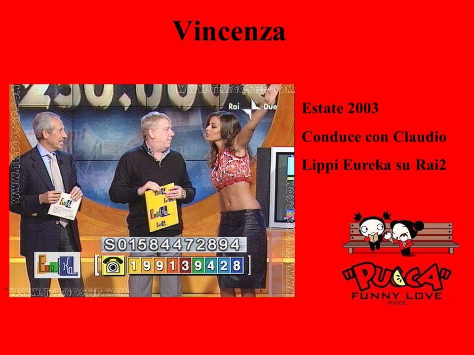 Vincenza Estate 2003 Conduce con Claudio Lippi Eureka su Rai2