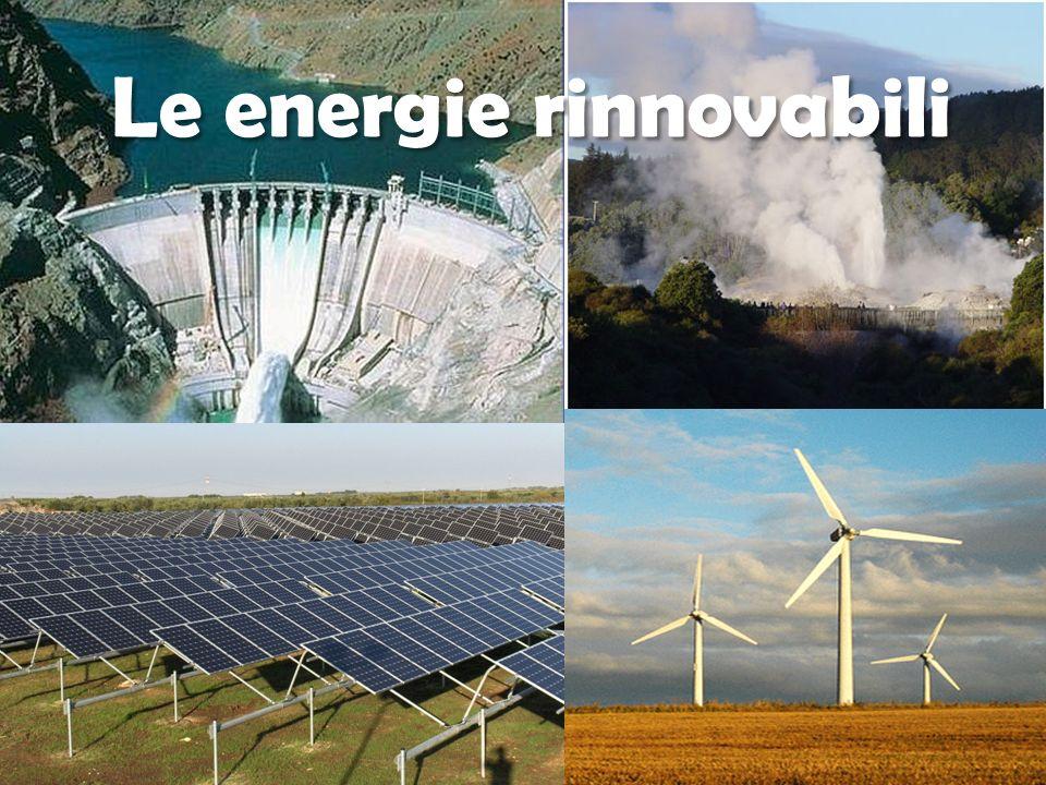 E la prima fonte rinnovabile utilizzata dalluomo su larga scala.