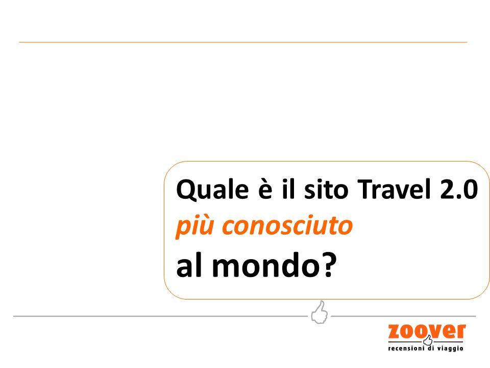 Quale è il sito Travel 2.0 più conosciuto al mondo?