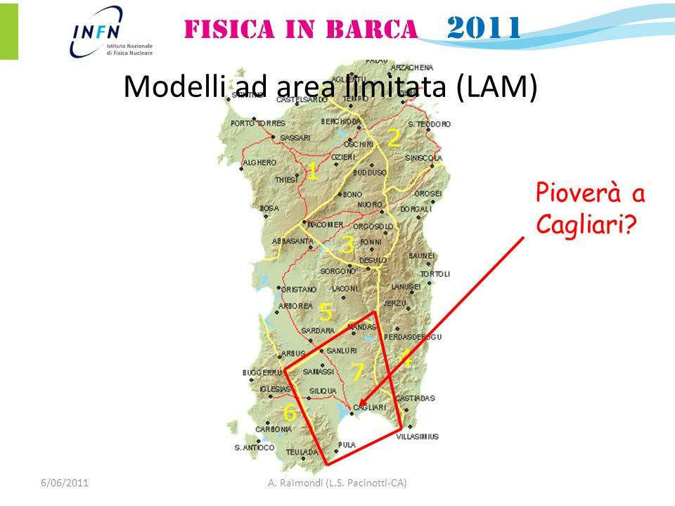 Pioverà a Cagliari 6/06/2011A. Raimondi (L.S. Pacinotti-CA) Modelli ad area limitata (LAM)