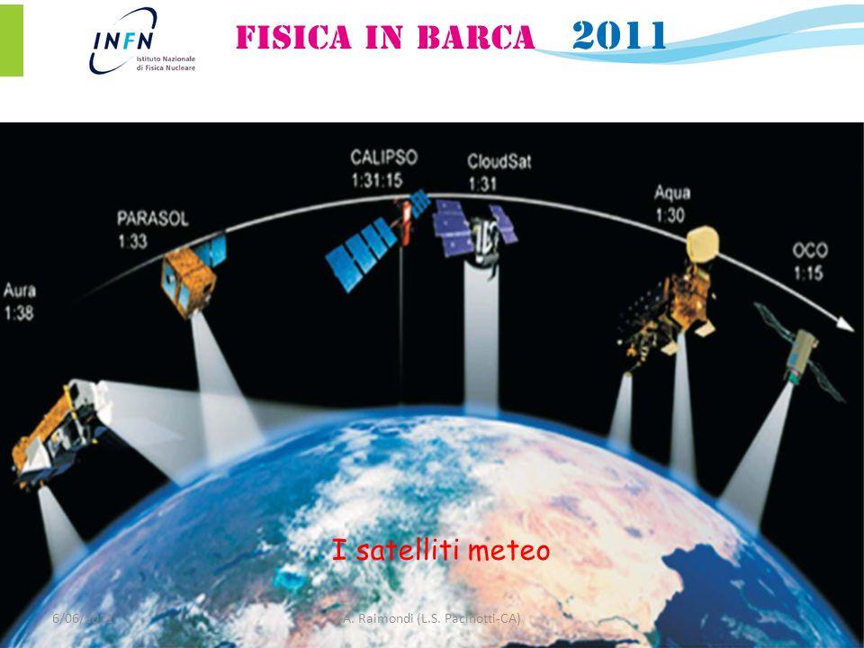 6/06/2011A. Raimondi (L.S. Pacinotti-CA) I satelliti meteo
