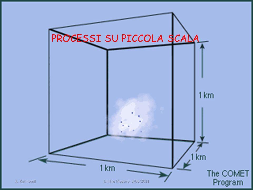 PROCESSI SU PICCOLA SCALA A. RaimondiUniTre Mogoro, 3/06/2011