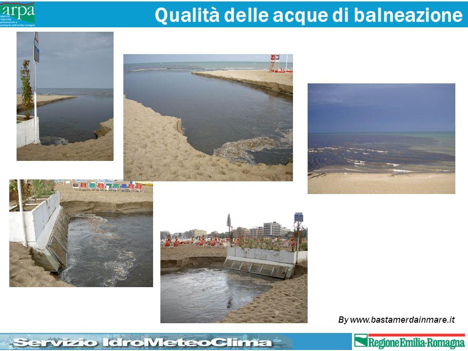 Qualità delle acque di balneazione By www.bastamerdainmare.it