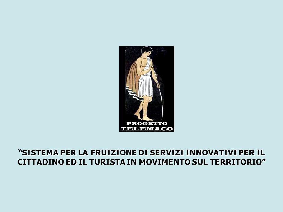 SISTEMA PER LA FRUIZIONE DI SERVIZI INNOVATIVI PER IL CITTADINO ED IL TURISTA IN MOVIMENTO SUL TERRITORIO