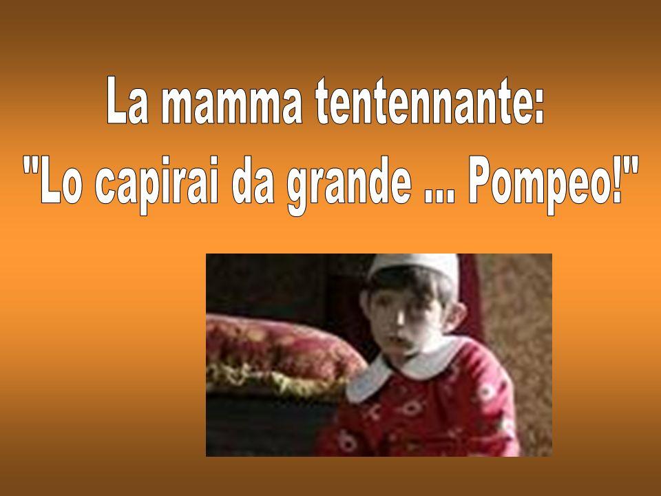 Il bambino alla mamma: Mamma perché la maestra chiama Roberto Robertino, Paolo Paolino, Luca Luchino e a me no