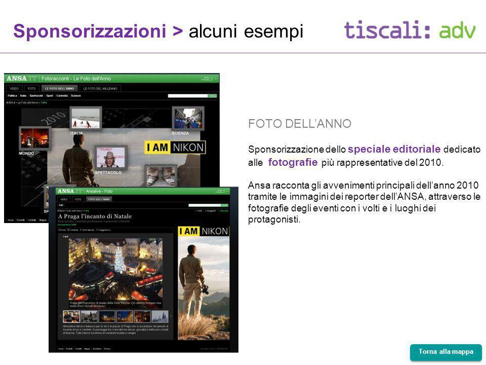 FOTO DELLANNO Sponsorizzazione dello speciale editoriale dedicato alle fotografie più rappresentative del 2010.