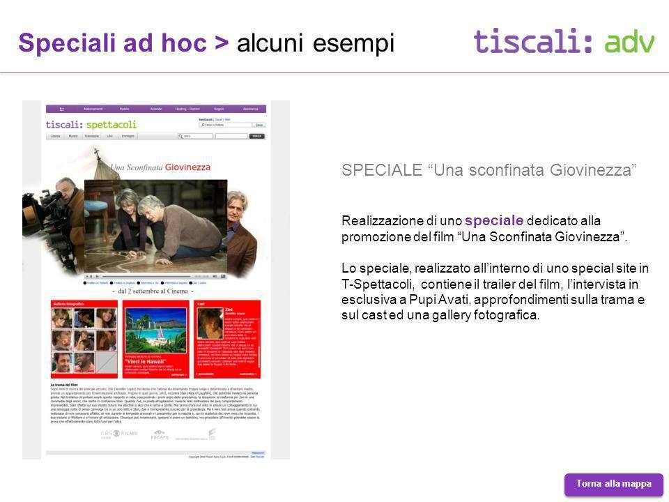 Speciali ad hoc > alcuni esempi SPECIALE Una sconfinata Giovinezza Realizzazione di uno speciale dedicato alla promozione del film Una Sconfinata Giovinezza.
