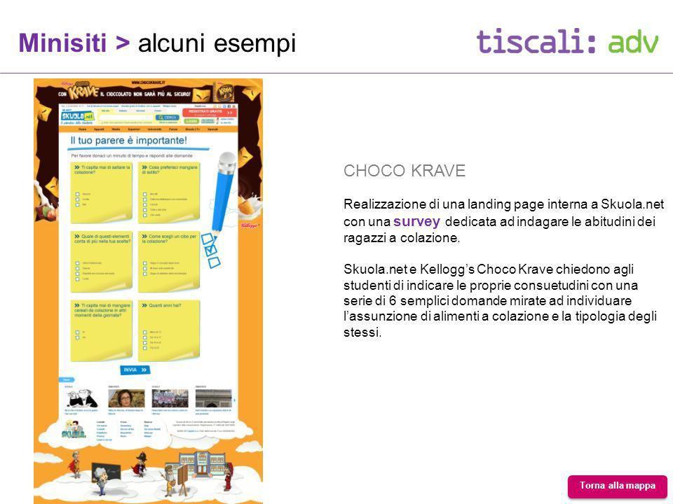 CHOCO KRAVE Realizzazione di una landing page interna a Skuola.net con una survey dedicata ad indagare le abitudini dei ragazzi a colazione.