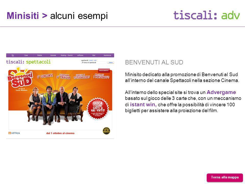 BENVENUTI AL SUD Minisito dedicato alla promozione di Benvenuti al Sud allinterno del canale Spettacoli nella sezione Cinema.