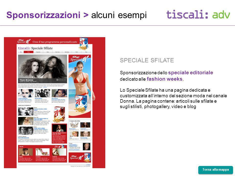 SPECIALE SFILATE Sponsorizzazione dello speciale editoriale dedicato alle fashion weeks.