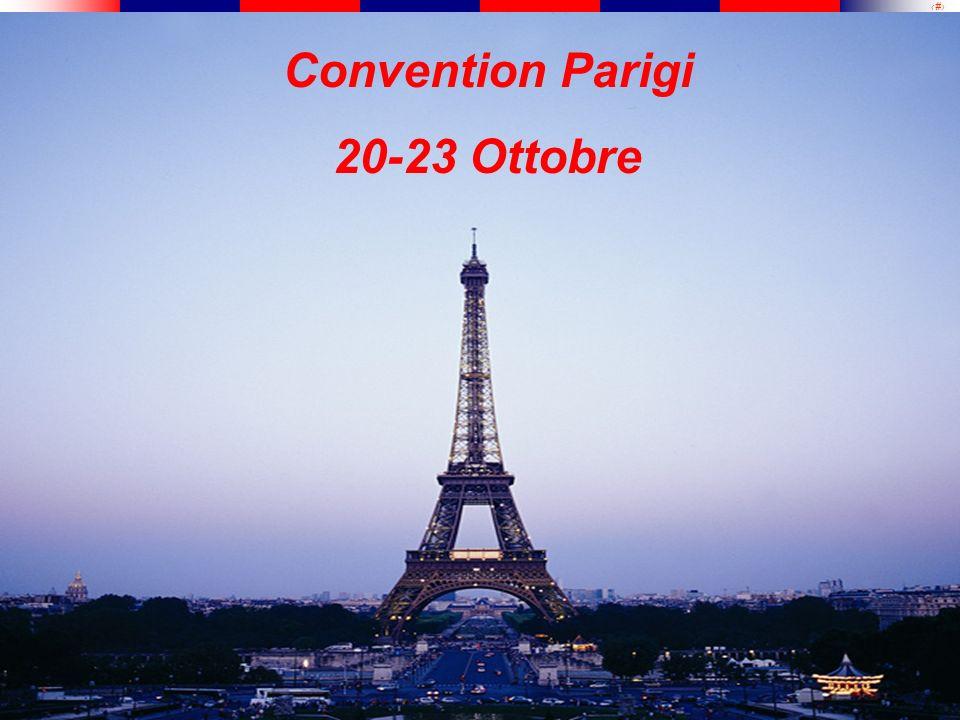 1 Convention Parigi 20-23 Ottobre