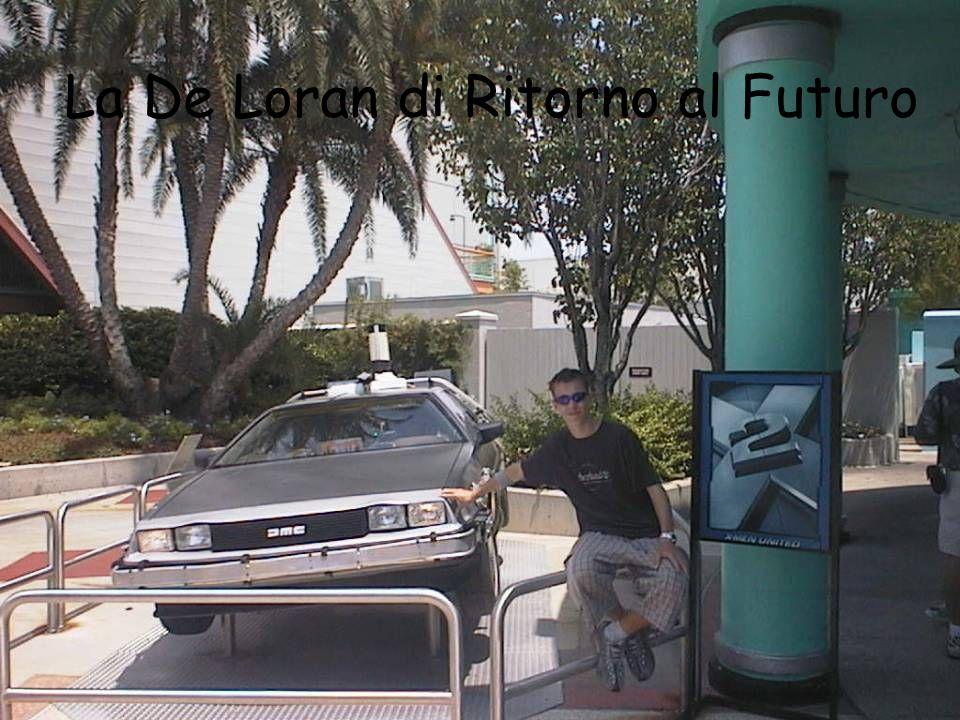 La De Loran di Ritorno al Futuro