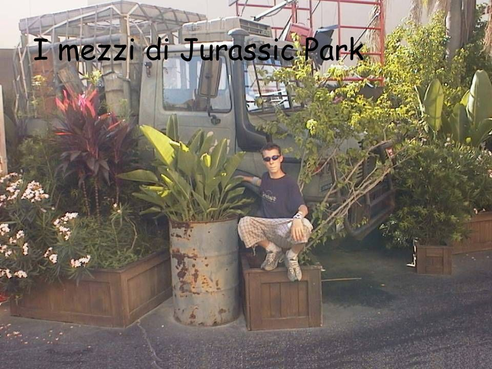 I mezzi di Jurassic Park