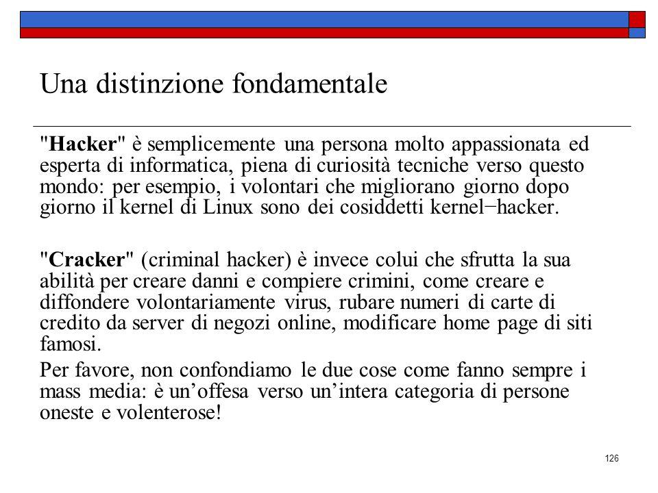 Autore: prof. Salvatore Basile 125 MASTERFORM SCUOLA DI ALTA FORMAZIONE Sicurezza dei dati In riferimento alla protezione dei dati, i rischi sono molt