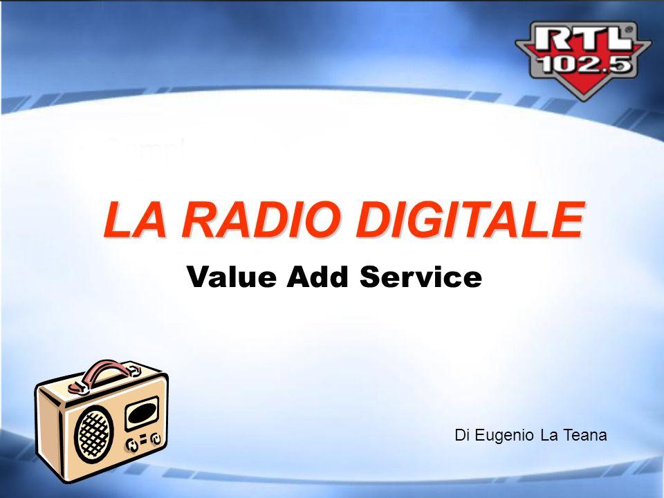 Codifica di informazioni in BIT: 0 o 1 Processo avvenuto in ogni settore Information technology Telefonia Mobile Fotografia Televisione Radio Crea compatibilità tra i contenuti dei vari media Digitalizzazione