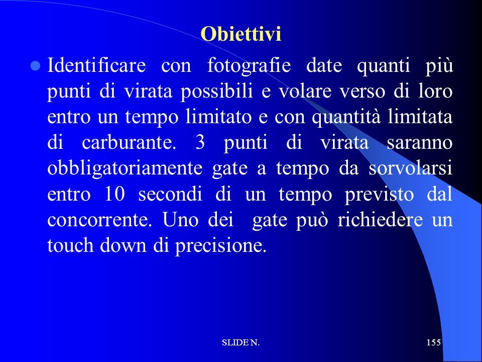 SLIDE N. 154 RICERCA DEL PUNTO DI VIRATA CON CARBURANTE LIMITATO