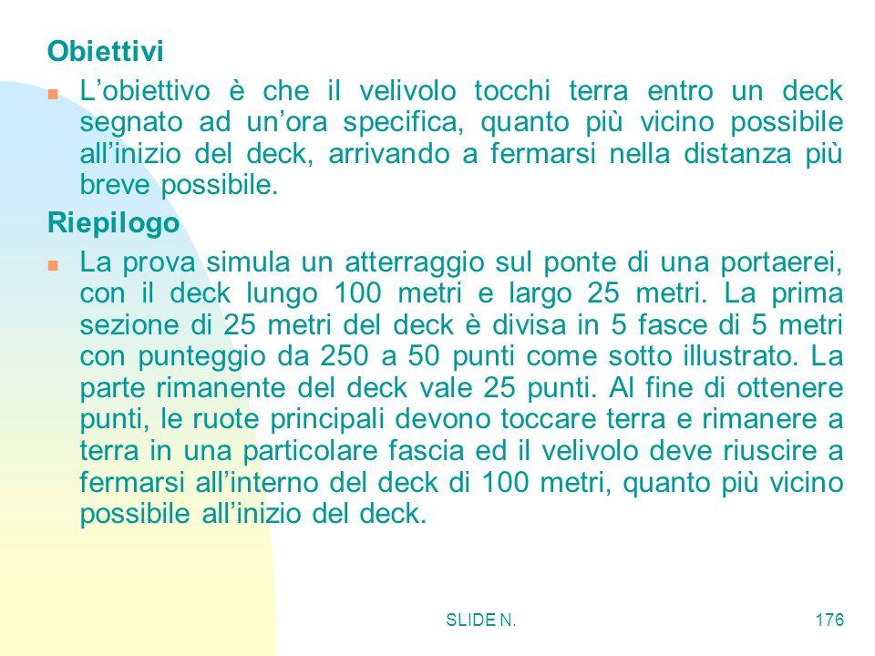 SLIDE N.175 ATTERRAGGIO DI PRECISIONE CON MOTORE