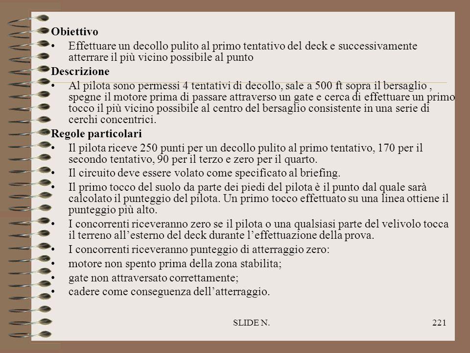 SLIDE N.220 DECOLLO ED ATTERRAGGIO DI PRECISIONE