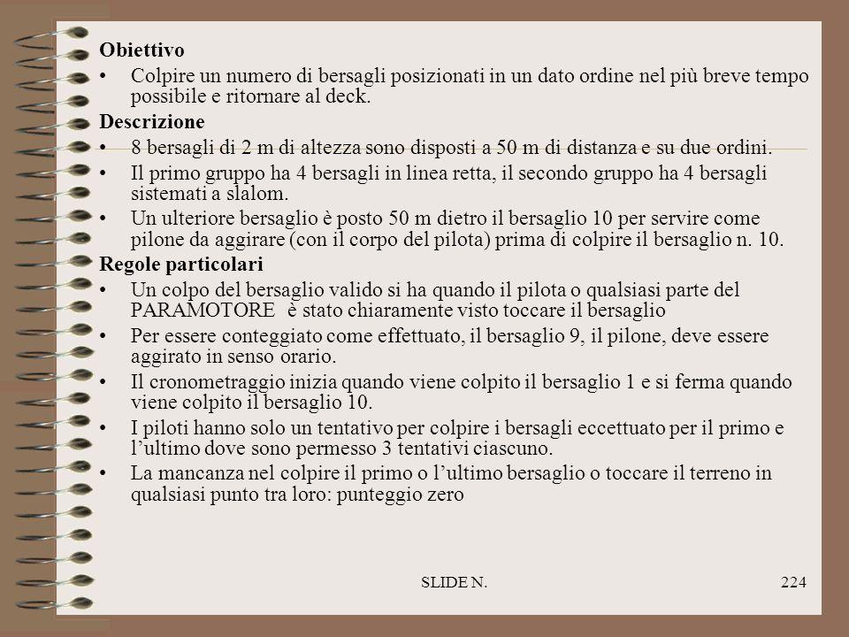 SLIDE N.223 CIRCUITO DI PRECISIONE NEL TEMPO MINORE