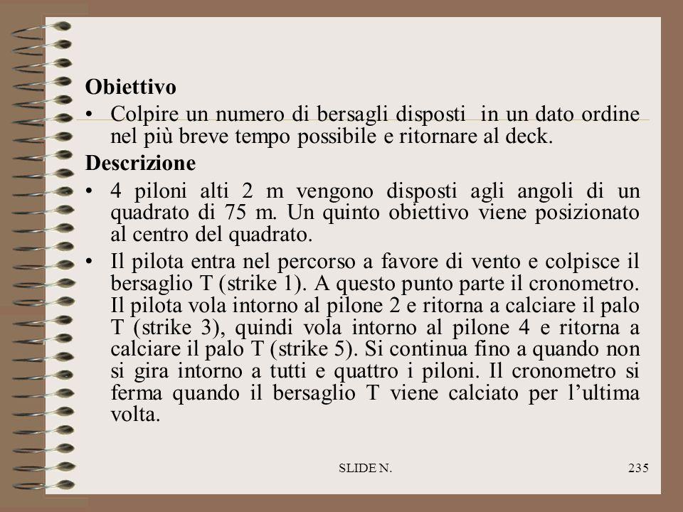 SLIDE N.234 CIRCUITO DI PRECISIONE NEL TEMPO MINORE (LOVER LEAF SLALOM)