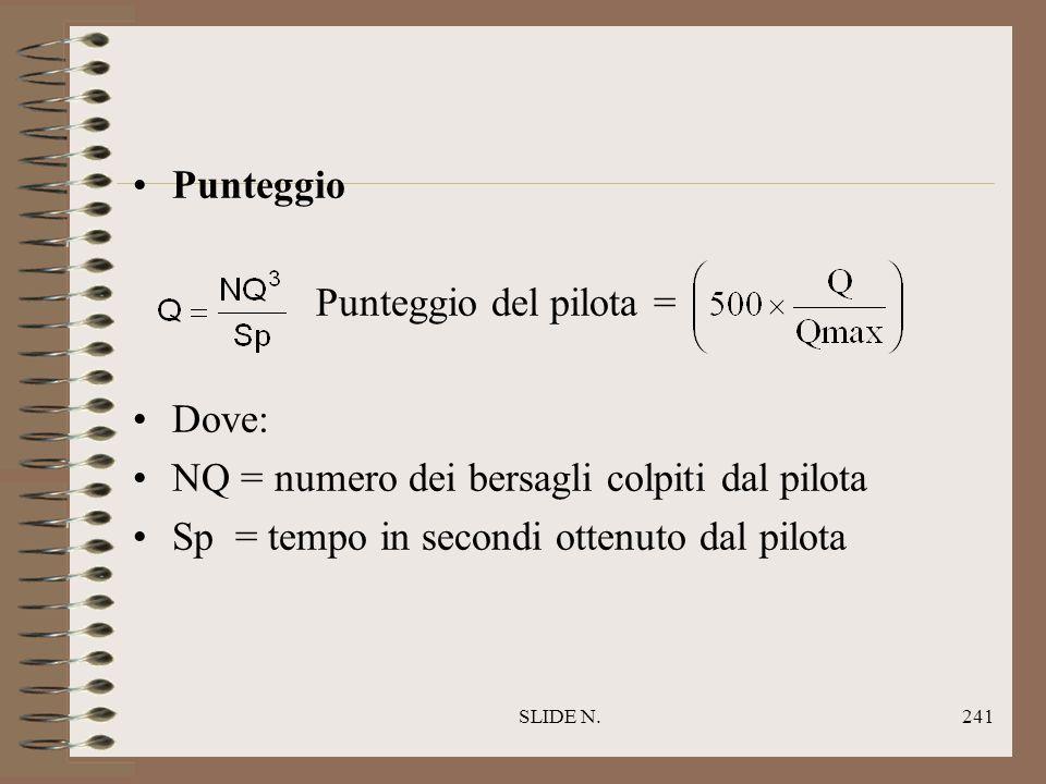SLIDE N.240 Regole particolari Un colpo sul bersaglio T è valido se il pilota o una qualsiasi parte del PARAMOTORE è stata chiaramente vista toccarlo