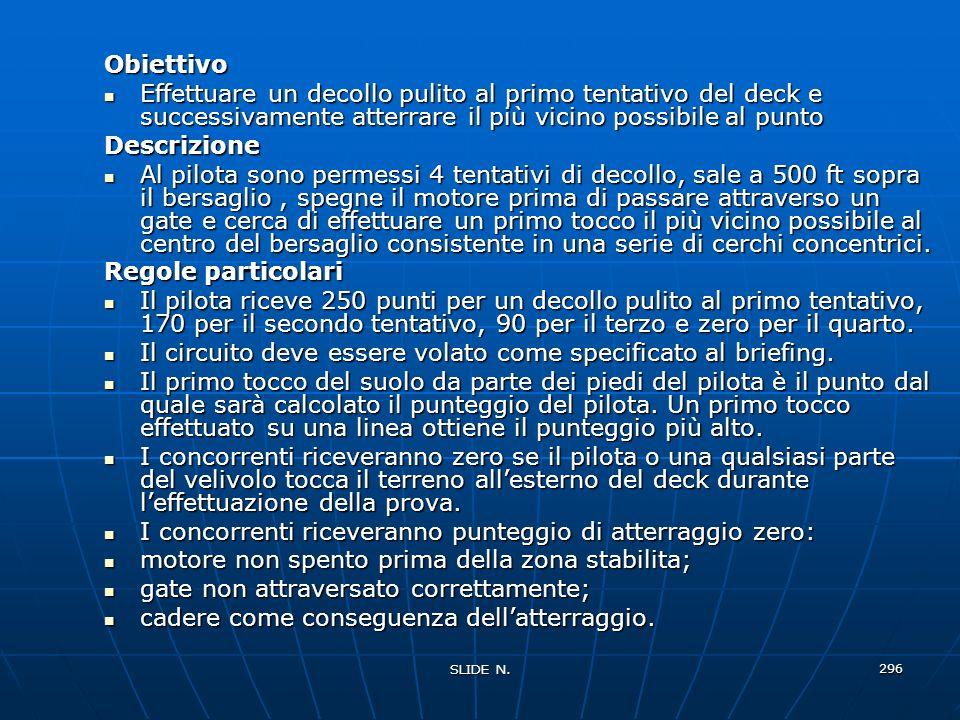 SLIDE N. 295 DECOLLO ED ATTERRAGGIO DI PRECISIONE