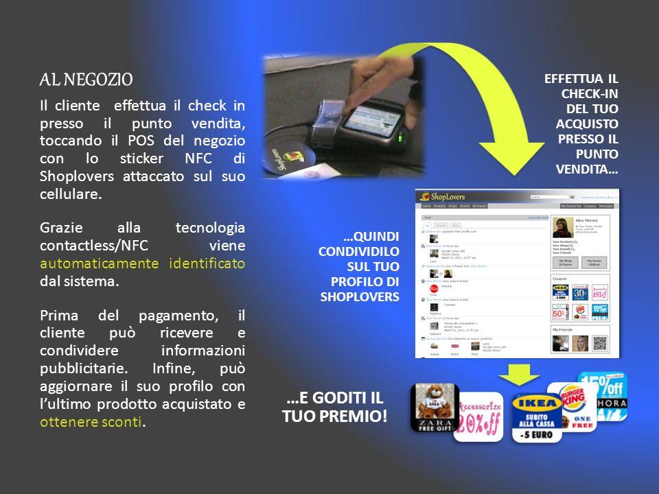 SHOPLOVERS ONLINE Lesperienza di shopping continua sul sito del Social Network di ShopLovers, disponibile via web o mobile app.