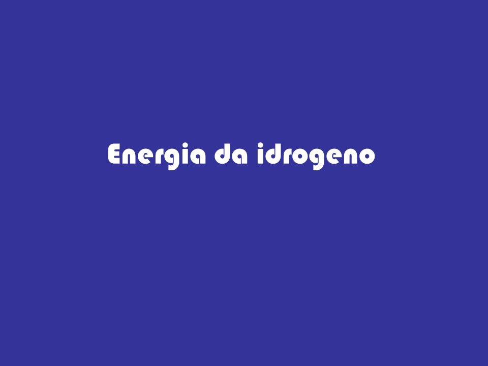 ENERGIA DA IDROGENO L idrogeno, (H) è l elemento più leggero, più semplice e più diffuso in natura, ma difficilmente si trova allo stato libero in natura.