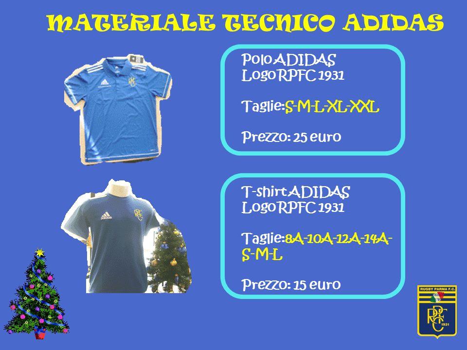 Giaccone ADIDAS Logo RPFC 1931 Taglie:Miste Bambino/adulto Prezzo: 45 euro