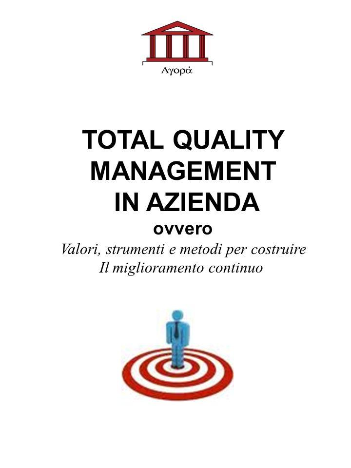 TOTAL QUALITY MANAGEMENT IN AZIENDA ovvero Valori, strumenti e metodi per costruire Il miglioramento continuo