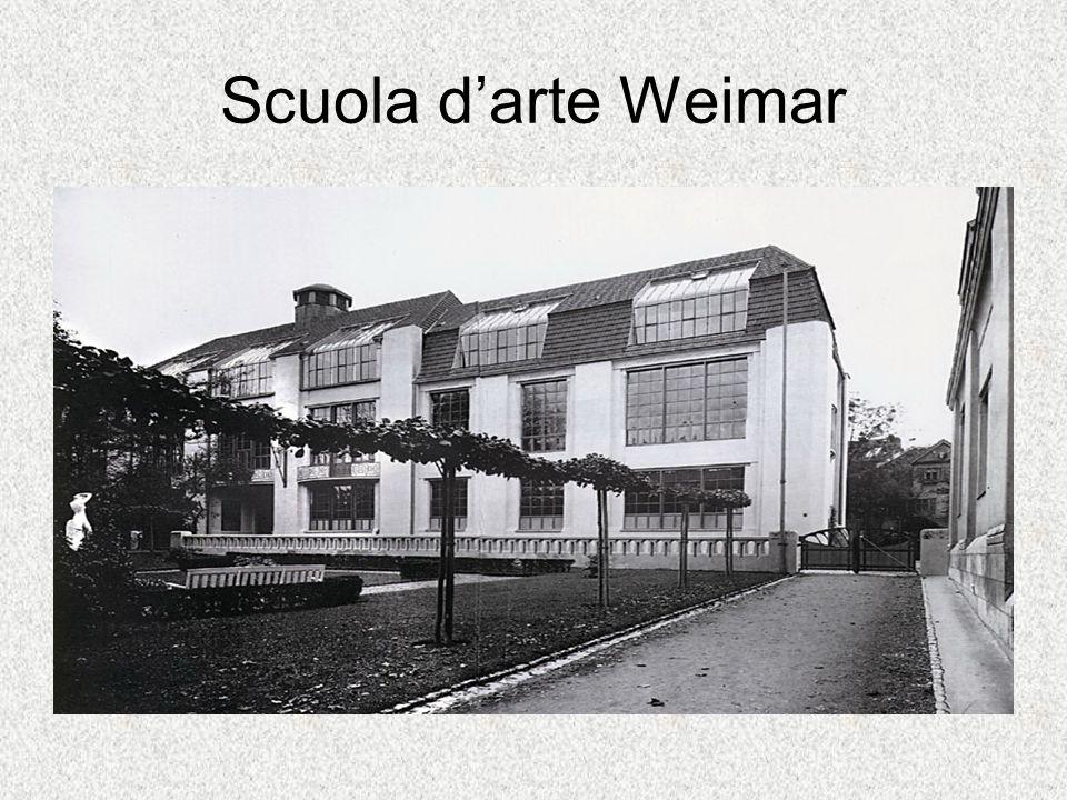 Scuola darte Weimar