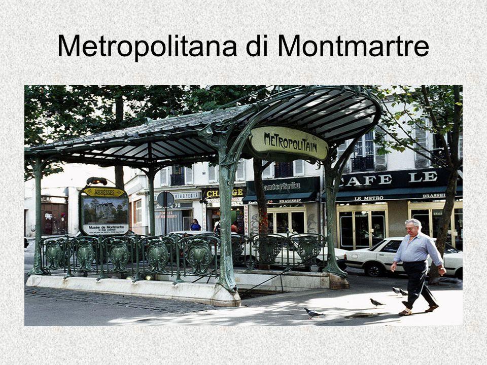 Metropolitana di Montmartre