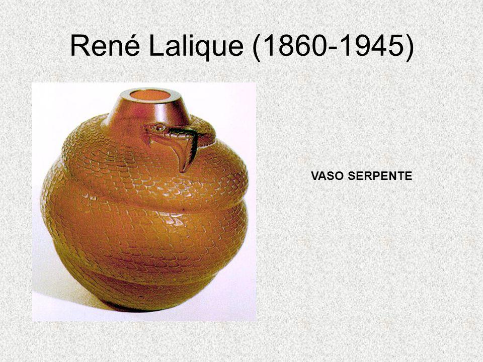 René Lalique (1860-1945) VASO SERPENTE