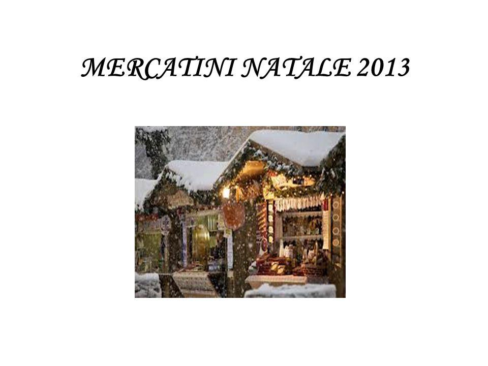 MERCATINI NATALE 2013