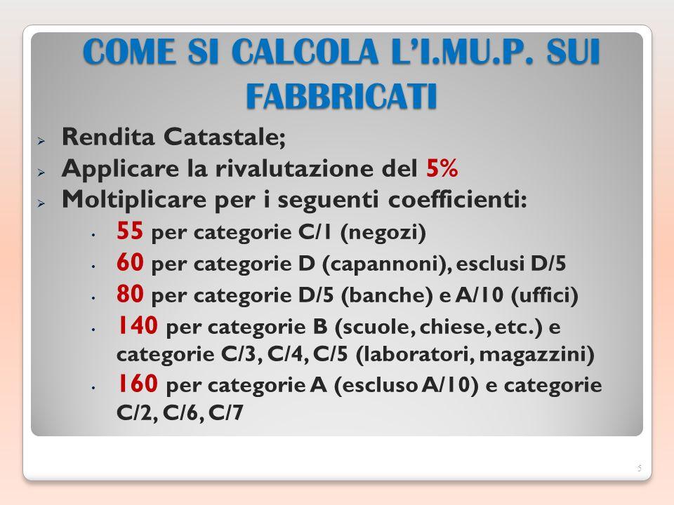 5 COME SI CALCOLA LI.MU.P.
