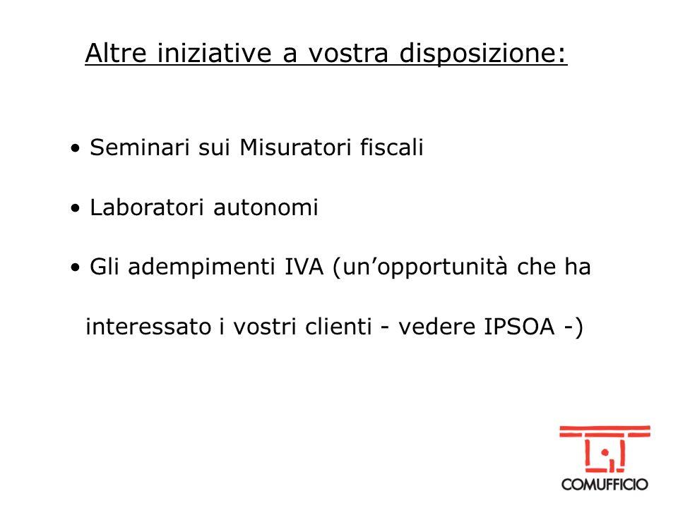 Come ci attrezziamo per il 2005 Collaborazione stretta con Elea Emilia (area informatica) Cesvip (area marketing e manageriale) per portarvi formazione specialistica e finanziata
