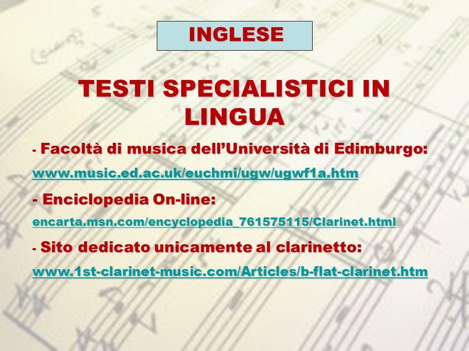 MOTORE DI RICERCA GOOGLE: CLARINET ACCESSORIES NEGOZI DI MUSICA e STRUMENTI MUSICALI: - www.emwinston.com/parts_catalog.asp?ID=9 www.emwinston.com/parts_catalog.asp?ID=9 - www.activemusician.com/Clarinets--c2369 www.activemusician.com/Clarinets--c2369 -www.music123.com/Search/Default.aspx?Ntt=clari net&N=64+4294905051 www.music123.com/Search/Default.aspx?Ntt=clari net&N=64+4294905051www.music123.com/Search/Default.aspx?Ntt=clari net&N=64+4294905051