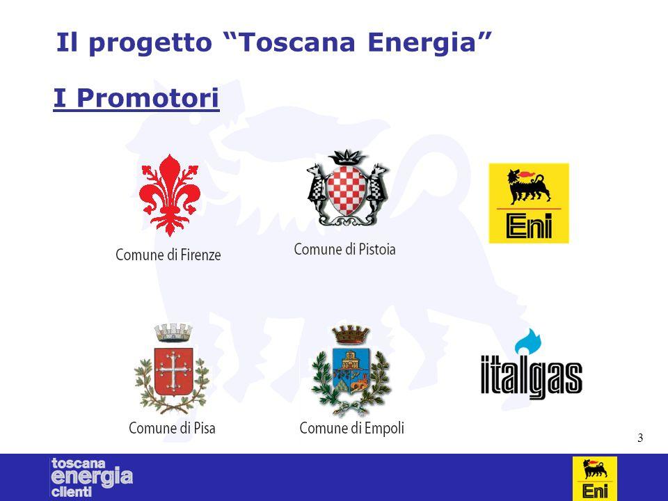 3 Il progetto Toscana Energia I Promotori
