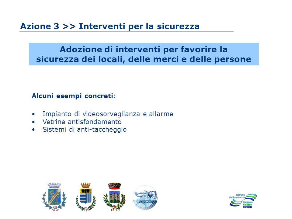 www.eurca.com Azione 3 >> Interventi per la sicurezza Adozione di interventi per favorire la sicurezza dei locali, delle merci e delle persone Alcuni