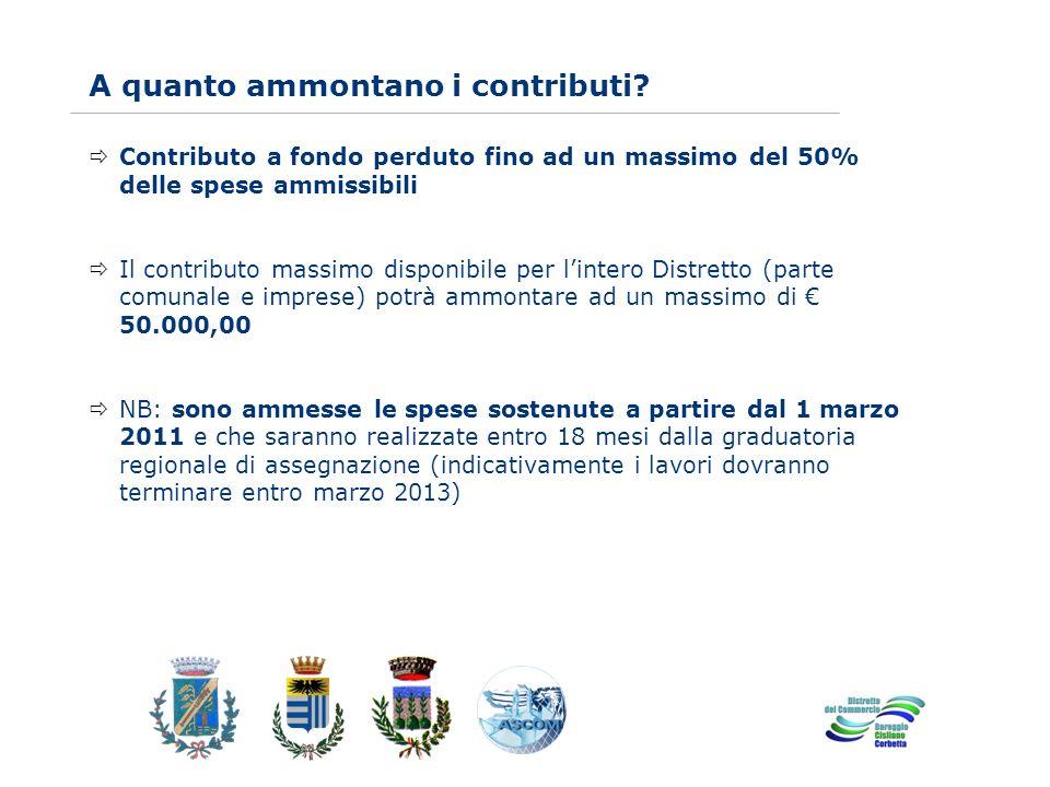 www.eurca.com A quanto ammontano i contributi? Contributo a fondo perduto fino ad un massimo del 50% delle spese ammissibili Il contributo massimo dis