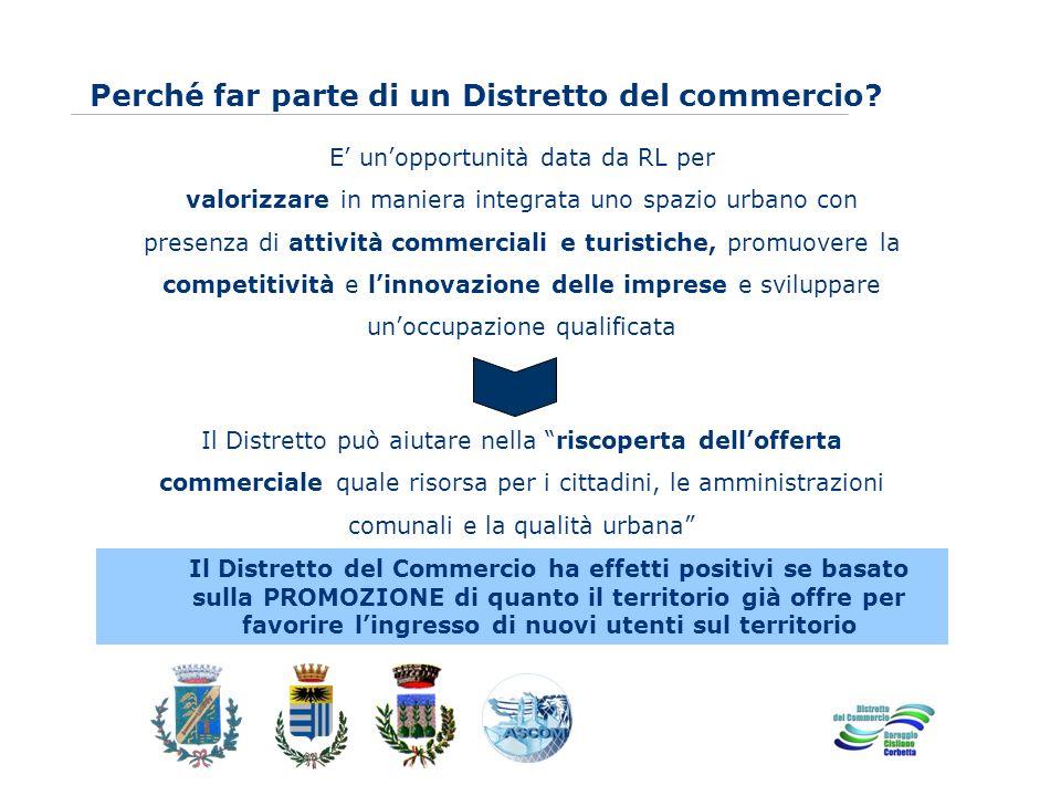 www.eurca.com E unopportunità data da RL per valorizzare in maniera integrata uno spazio urbano con presenza di attività commerciali e turistiche, pro