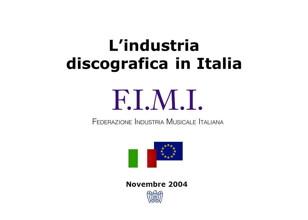 Lindustria discografica in Italia Novembre 2004