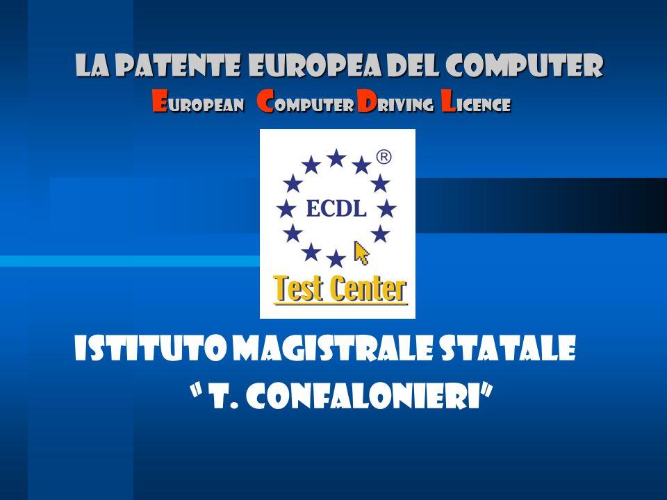 Ist.Magistrale T.Confalonieri Progetto E.C.D.L.
