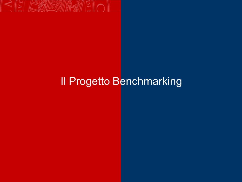 Il Progetto Benchmarking