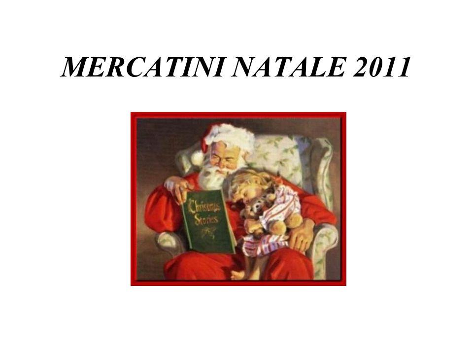 MERCATINI NATALE 2011