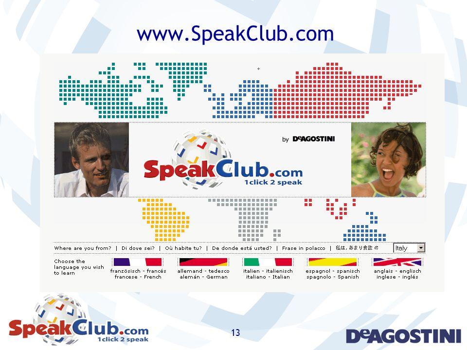 13 www.SpeakClub.com
