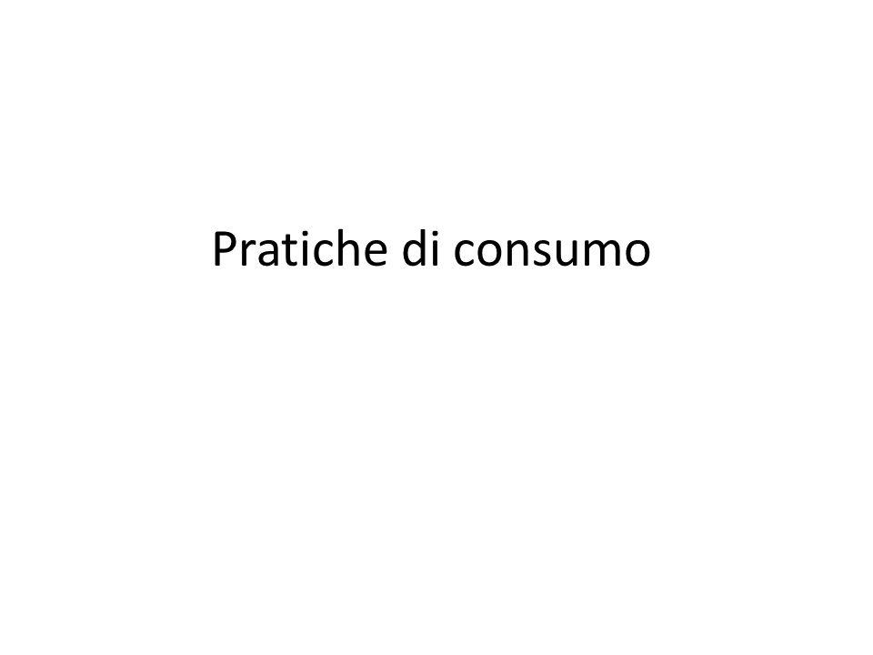 Pratiche di consumo