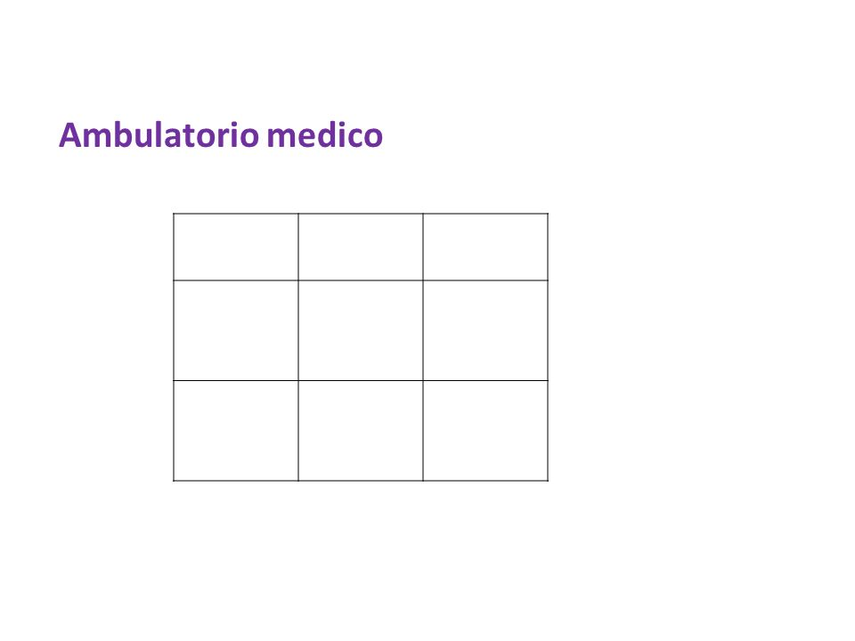 Ambulatorio medico