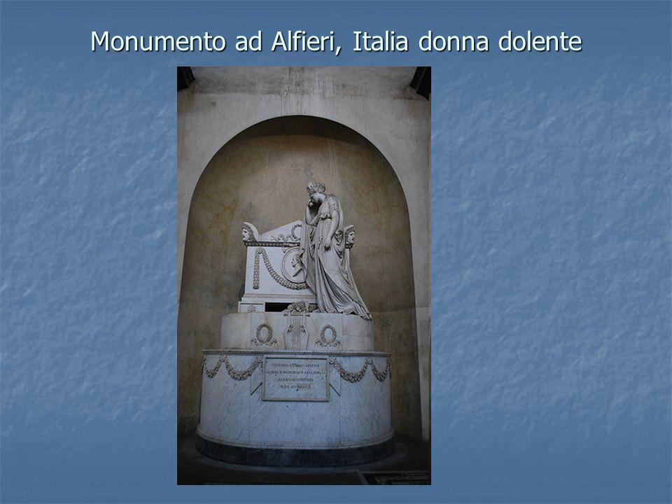 Monumento ad Alfieri, Italia donna dolente
